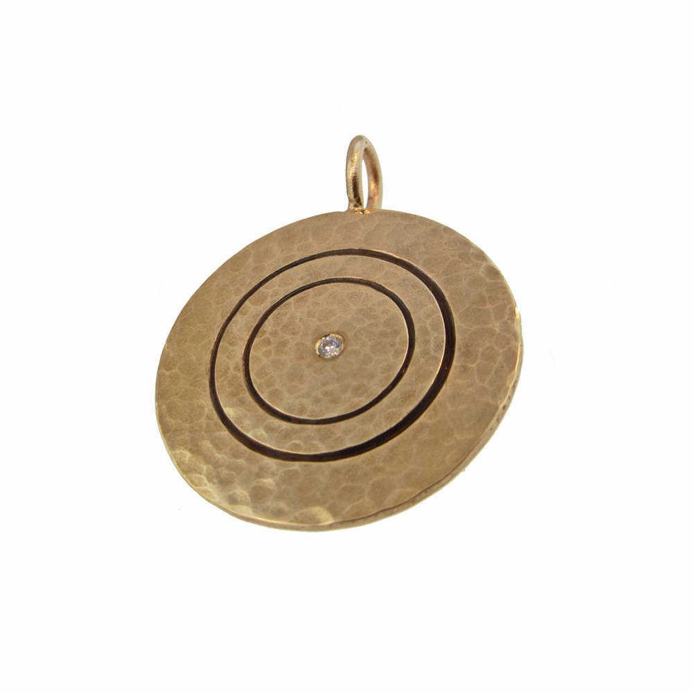 Modern Mommy 14k Gold Pendant